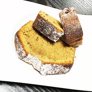 紅茶の自家製ケーキ/ありがとうございました!